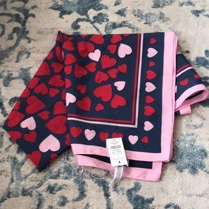 NWT Talbots heart scarf